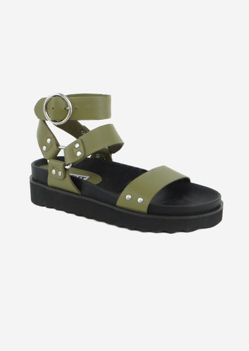 Burt Sandal Army Green
