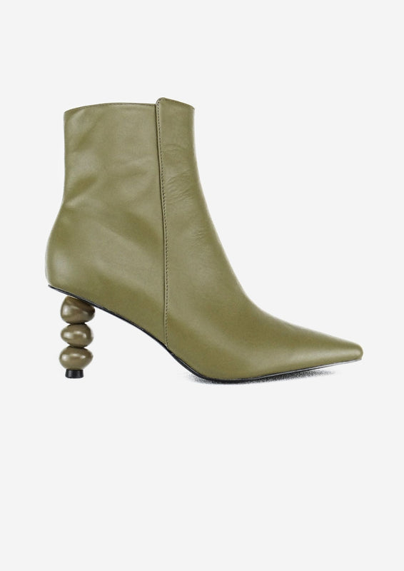 Olga Boot Army Green