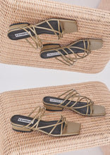 Load image into Gallery viewer, Tori Sandal Army Green