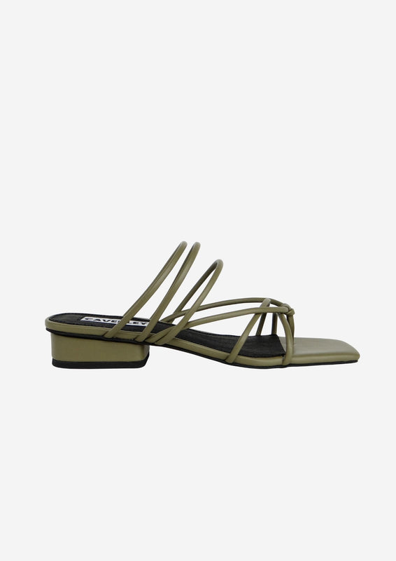 Tori Sandal Army Green